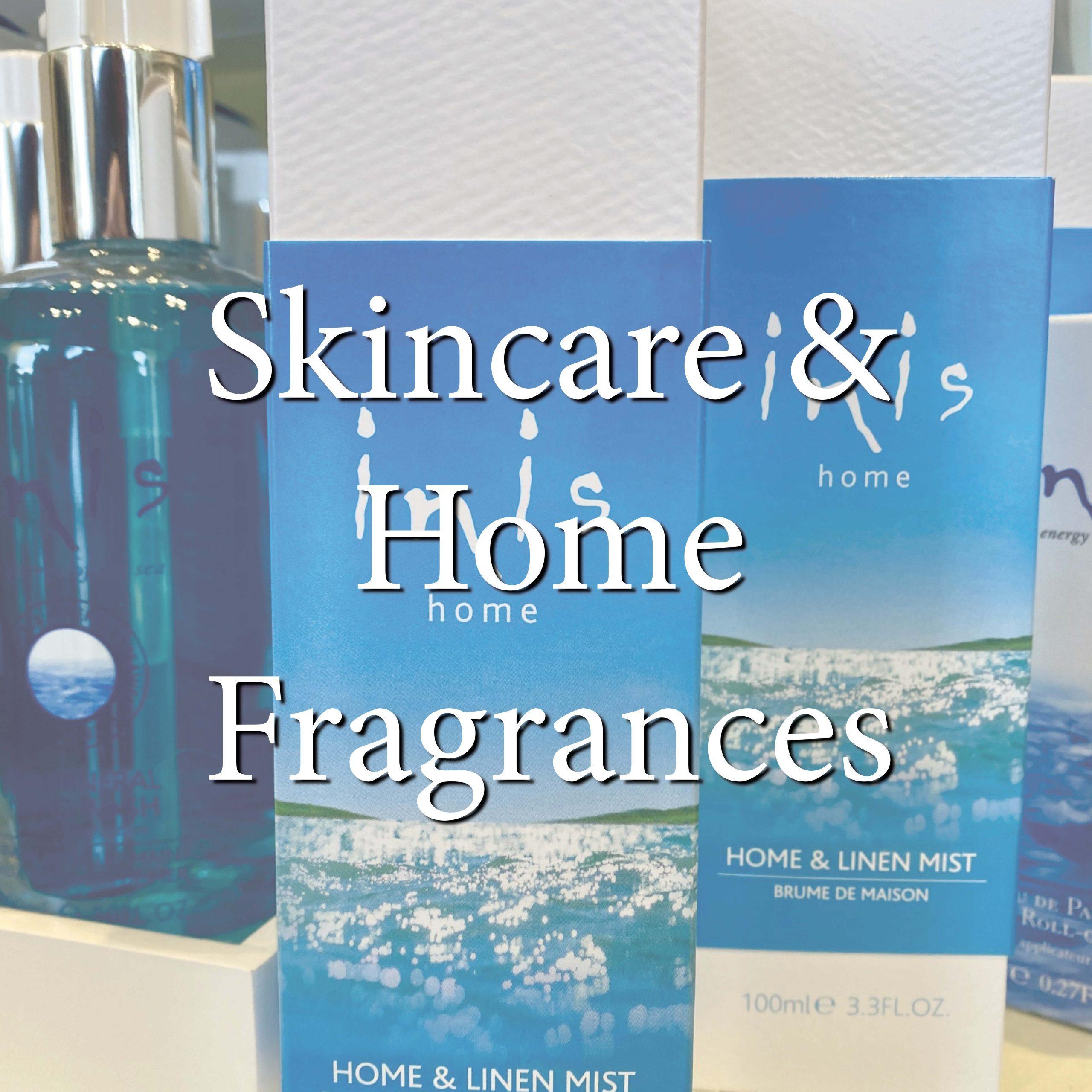 skincare home fragrances